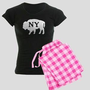 Buffalo New York Women's Dark Pajamas