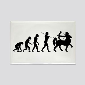 Centaur Archer Evolution Rectangle Magnet