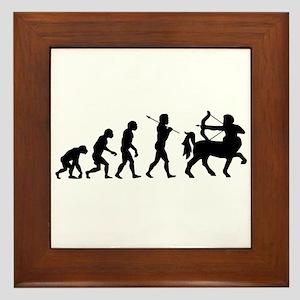 Centaur Archer Evolution Framed Tile