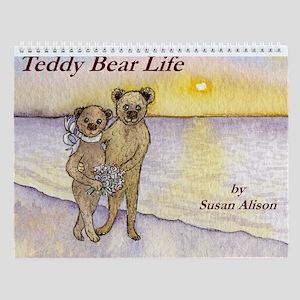 Teddy Bear Life Wall Calendar
