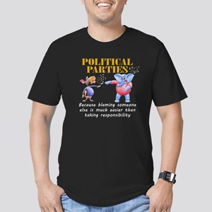 """""""Political Parties"""" Fitted Tee"""