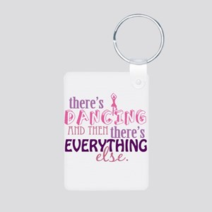 Dancing is Everything Aluminum Photo Keychain