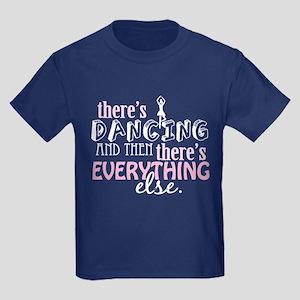 Dancing is Everything Kids Dark T-Shirt