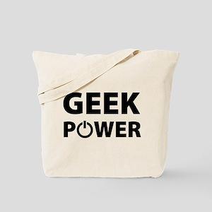 Geek Power Tote Bag