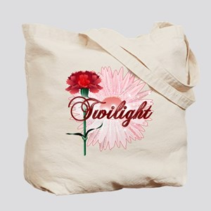 Twilight Flowers by Twidaddy.com Tote Bag