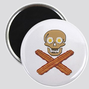 Food Pirate Bacon Eggs Magnet