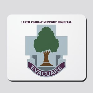 DUI - 115th Combat Support Hospital with Text Mous