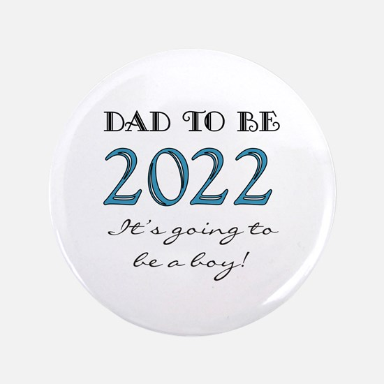 2017 Dad to Be Boy Button