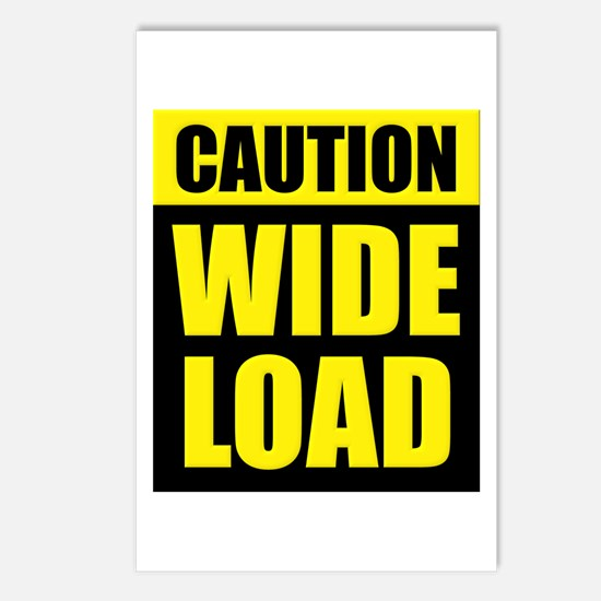 Wide Load (Fat) Postcards (Package of 8)