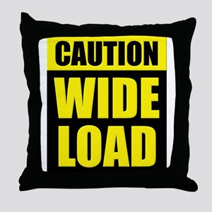 Wide Load (Fat) Throw Pillow