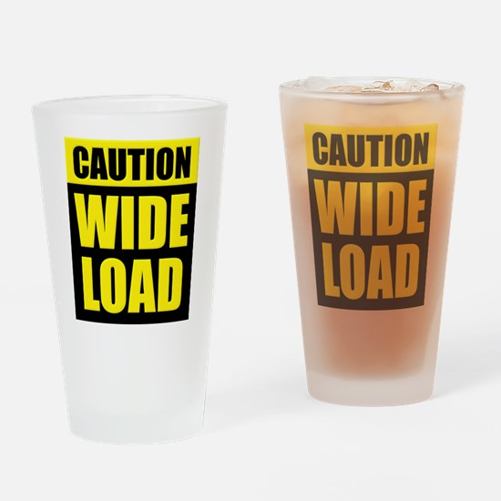 Wide Load (Fat) Drinking Glass