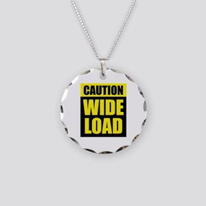 Wide Load (Fat) Necklace Circle Charm