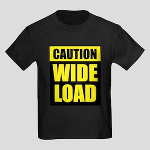 Wide Load (Fat) Kids Dark T-Shirt