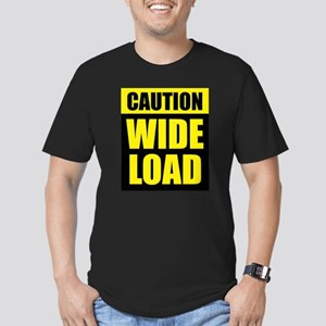 Wide Load (Fat) Men's Fitted T-Shirt (dark)