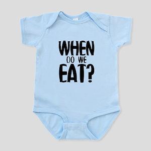 When Do We Eat? Infant Bodysuit