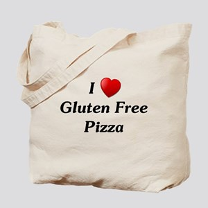 I Love Gluten Free Pizza Tote Bag