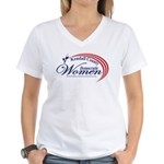 KCDW Women's V-Neck T-Shirt