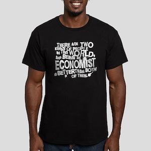 Economist (Funny) Gift Men's Fitted T-Shirt (dark)
