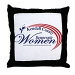 KCDW Throw Pillow