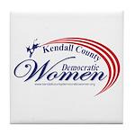 KCDW Tile Coaster