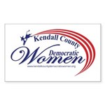 KCDW Sticker (Rectangle 50 pk)