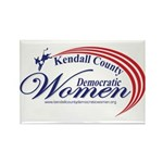 KCDW Rectangle Magnet (10 pack)