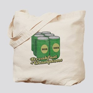 Beer Breakfast of Champions Tote Bag