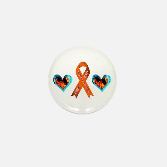 Someone I Love Has CRPS Heart Mini Button