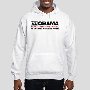 """""""So Loved The Poor"""" Hooded Sweatshirt"""