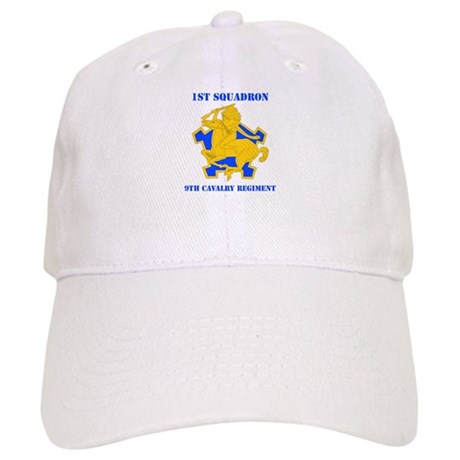 DUI - 1st Sqdrn - 9th Cavalry Regt with Text Cap