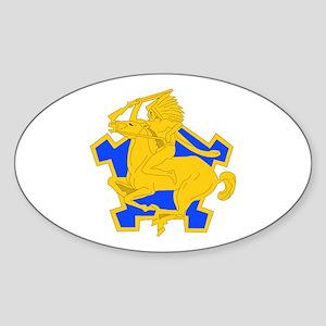 DUI - 1st Sqdrn - 9th Cavalry Regt Sticker (Oval)
