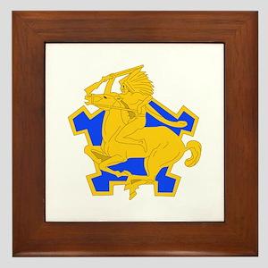 DUI - 1st Sqdrn - 9th Cavalry Regt Framed Tile