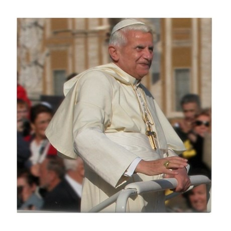 Pope Benedict Tile Coaster