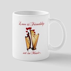 Love/Music Mug