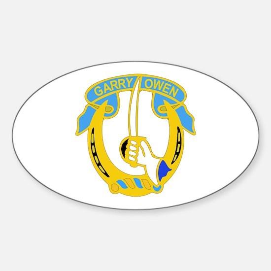 DUI - 2nd Sqdrn - 7th Cavalry Regt Sticker (Oval)