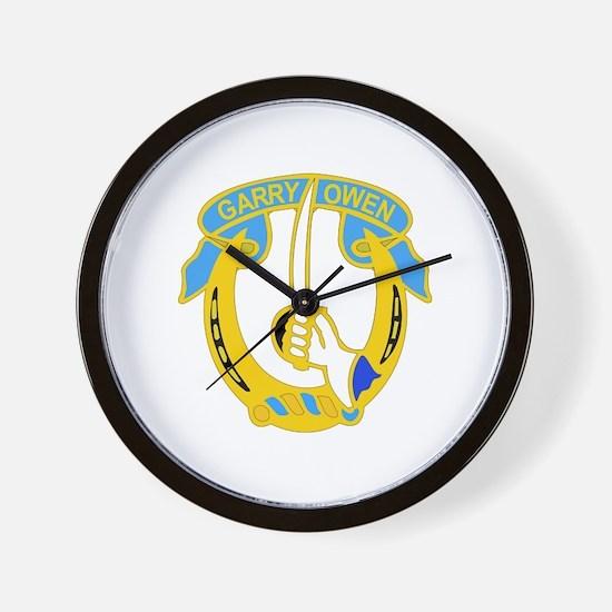 DUI - 2nd Sqdrn - 7th Cavalry Regt Wall Clock