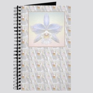 Brides White Orchid print Journal