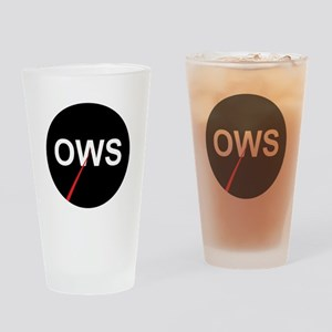 99 Percent Pie Chart: Drinking Glass