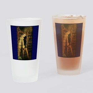 """""""The Bookworm"""" Drinking Glass"""