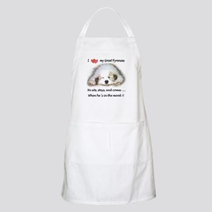 Great Pyrenees Mood BBQ Apron