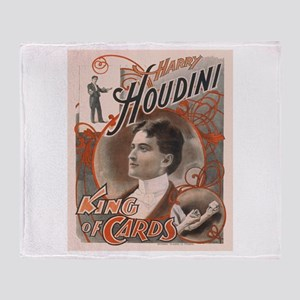 Houdini Performance Poster Throw Blanket