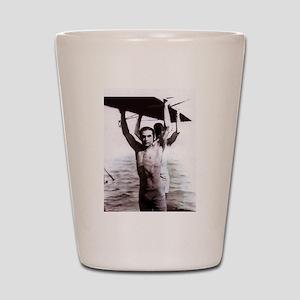 Rudolph Valentino Swimsuit Pi Shot Glass