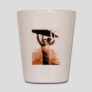 Rudolph Valentino Bronzed Swi Shot Glass