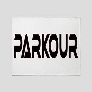 Parkour Throw Blanket
