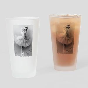 "Anna Pavlova, ""Cygne"" Drinking Glass"