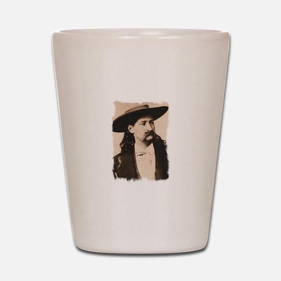 Wild Bill Hickok Shot Glass