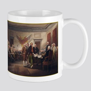 Signing of the Declaration of Mug