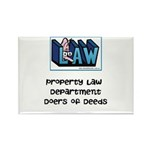 Property lawyer's Rectangle Magnet (100 pack)