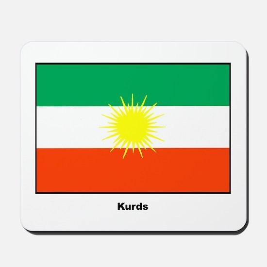Kurd Kurdistan Flag Mousepad