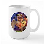 Angel3-Shetland Pony Large Mug